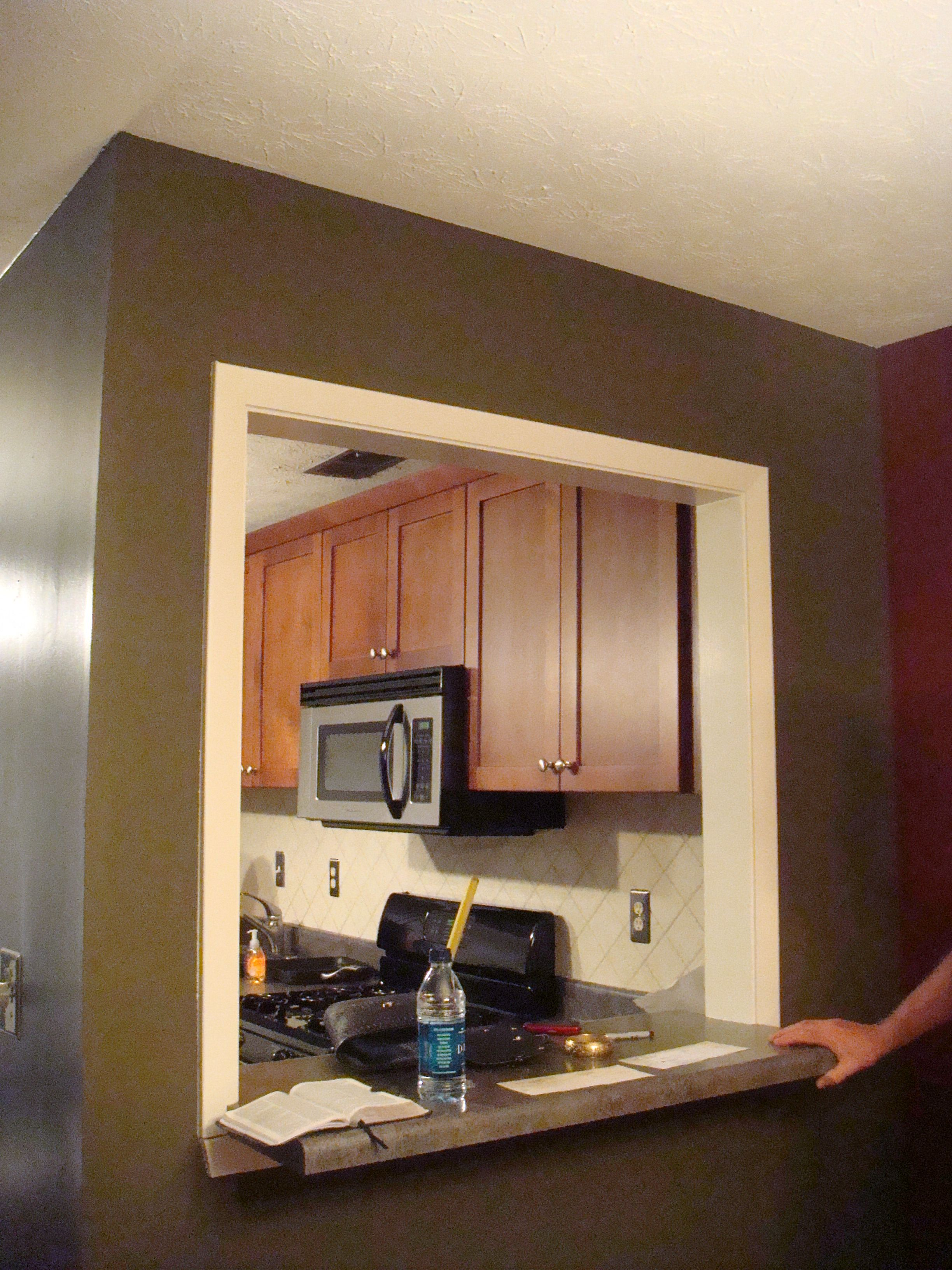 Attractive Kitchen Wall Cutout   Google Search