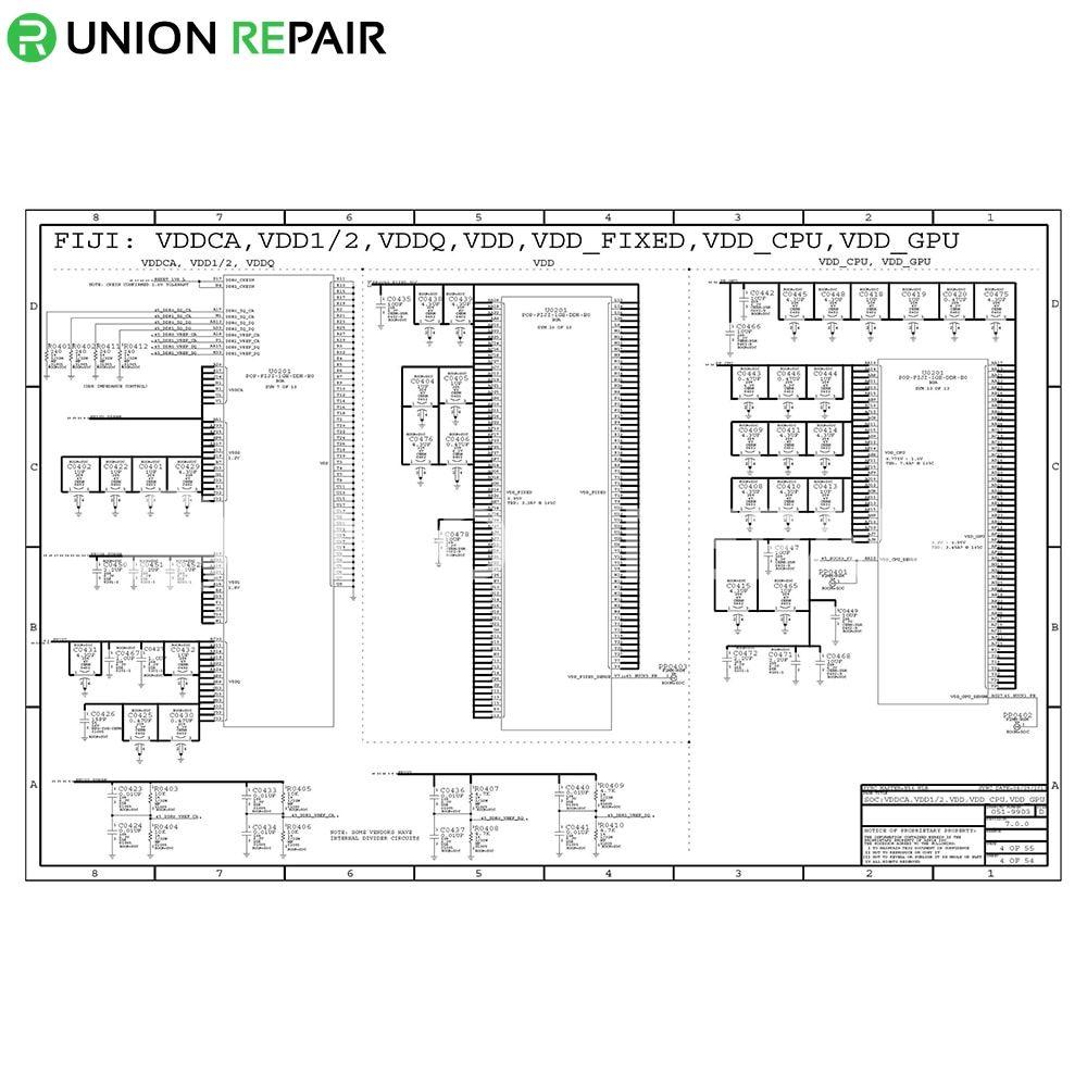 Schematic Diagram (searchable PDF) for iPad 1/2/3/4/Air/Air2/mini/mini2 - PDF Version