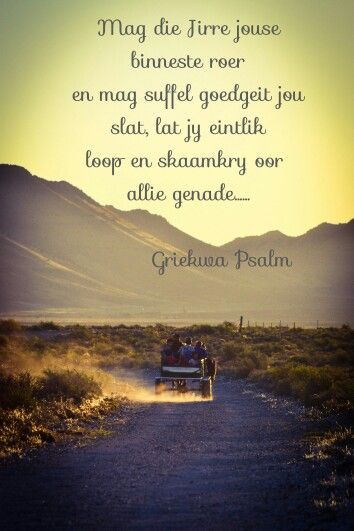 Griekwa Psalm Prayers Pinterest Afrikaans And Psalms