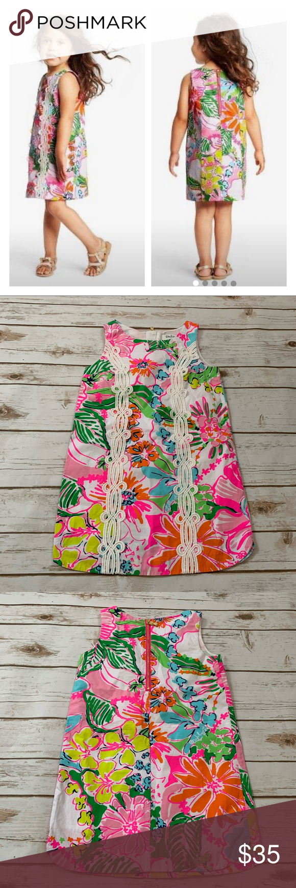 Lilly Pulitzer for Target Girl Dress XS Lilly Pulitzer for