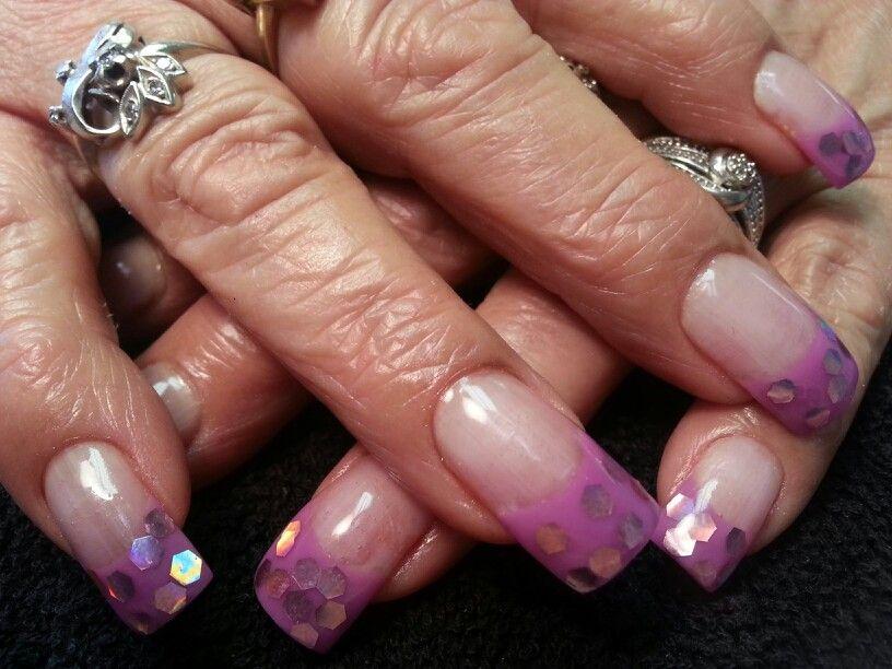 Rosalie Nail designs, Sculptured nails, Nails