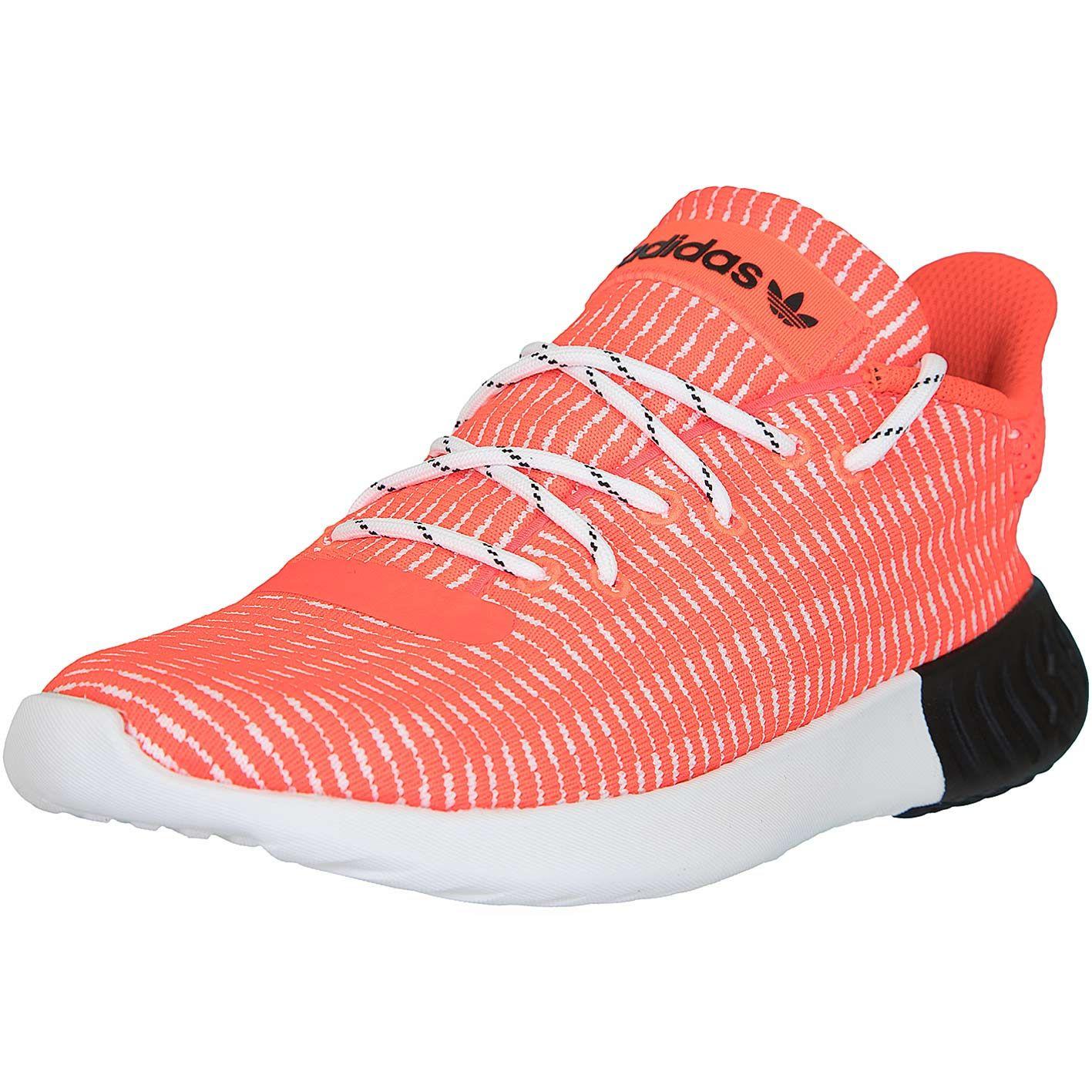 ☆ Adidas Originals Damen Sneaker Tubular Dusk rotweiß
