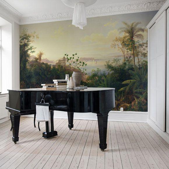 gloria papier peint sur mesure papier peint au fil des couleurs pinterest papier peint. Black Bedroom Furniture Sets. Home Design Ideas
