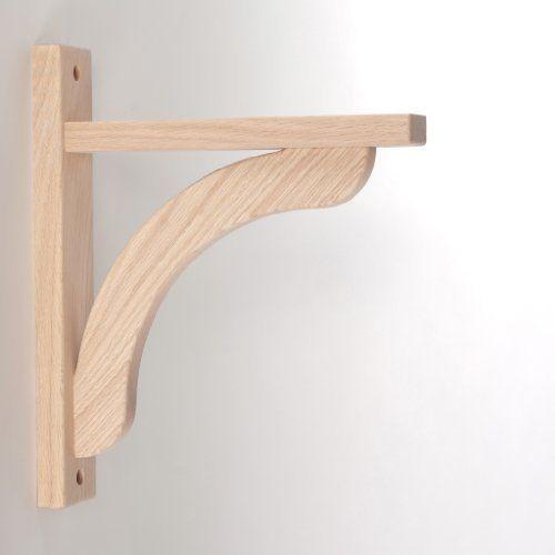 Kitchen Shelf Brackets Wood: Oak Concave 10 By Tyler Morris