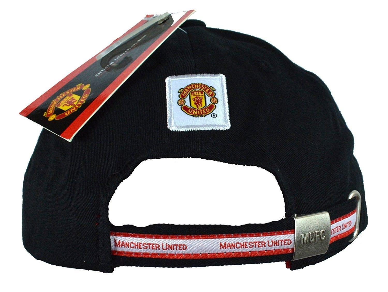 4b2b762cd97 Manchester United Hat Cap Adjustable Group Cap MUFC 100 % Cotton ...