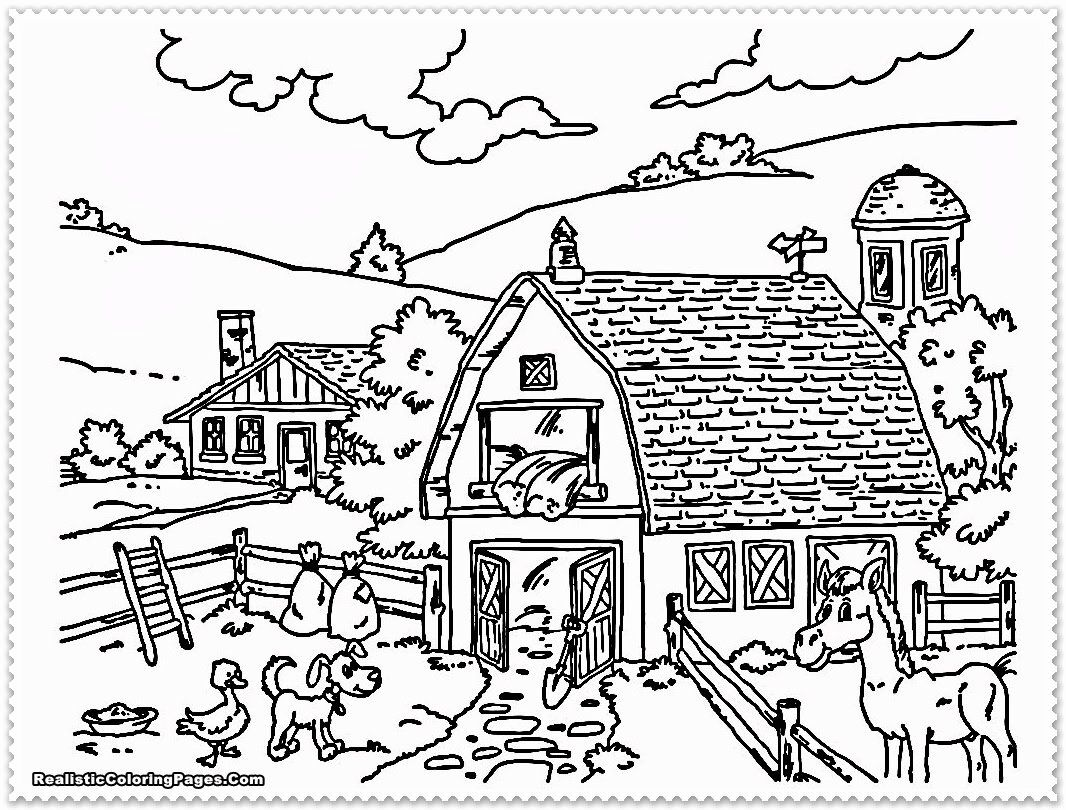 Free Farm Animal Coloring Pages Best Of Realistic Farm Animal Coloring Pages In 2020 Farm Animal Coloring Pages Farm Coloring Pages Animal Coloring Pages