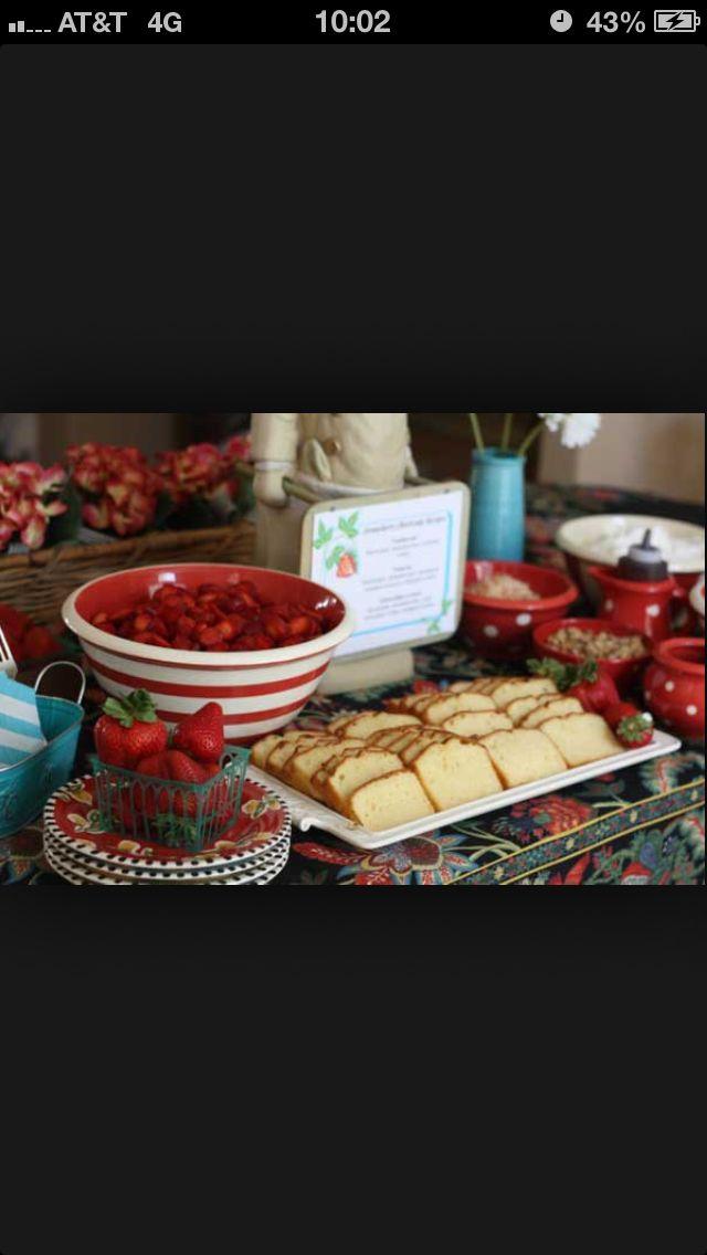 Strawberry Shortcake Dessert Bar Nice Alternative To
