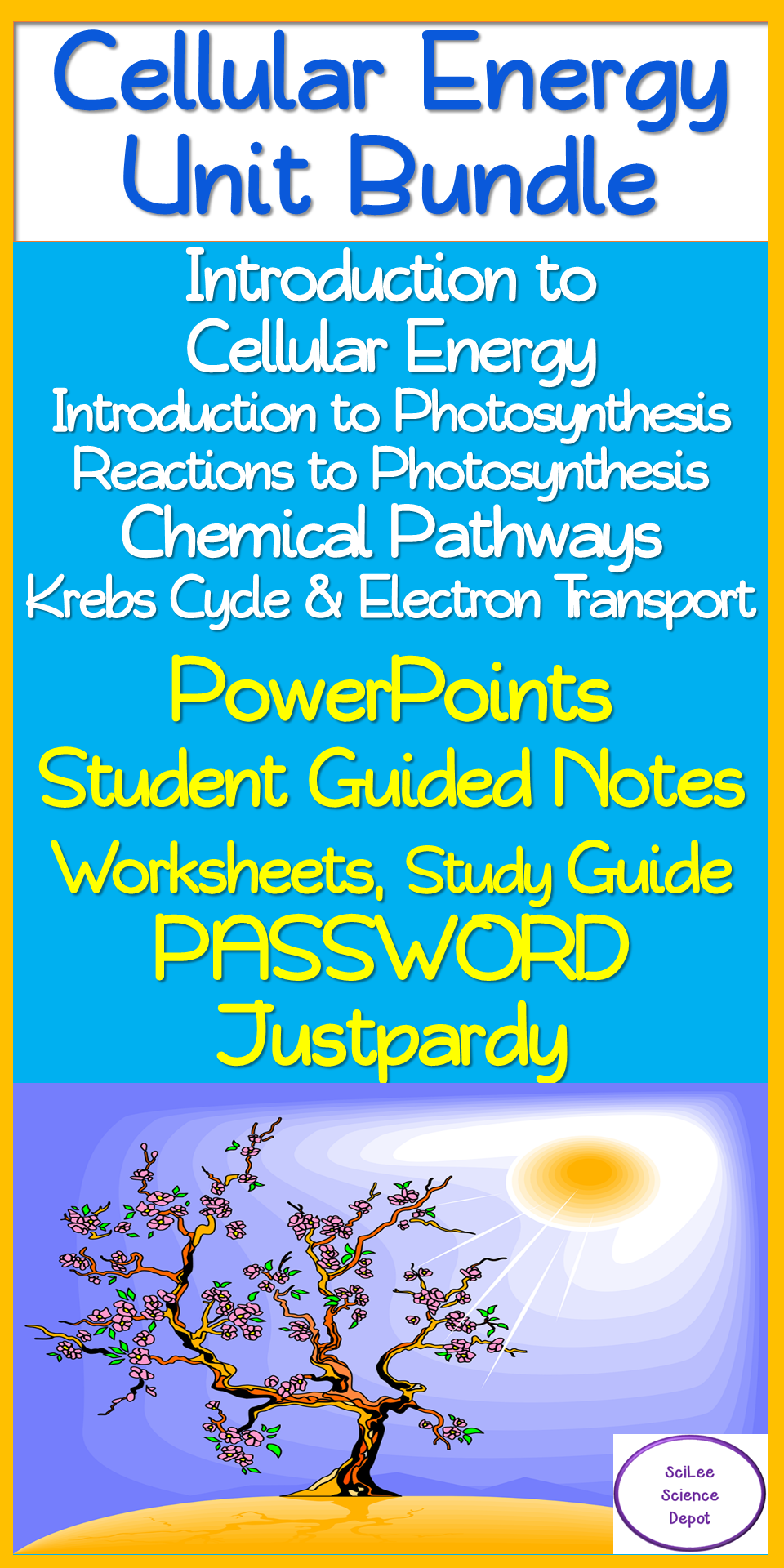 Cellular Energy 10 Day No Prep Unit Bundle Lessons Activities Reviews Tests Photosynthesis Lessons Cellular Energy Guided Notes [ 1920 x 960 Pixel ]