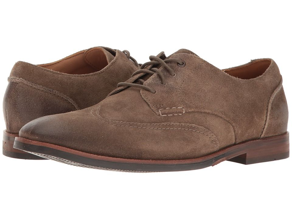 CLARKS CLARKS - BROYD WING (OLIVE SUEDE) MEN'S SHOES. #clarks #shoes