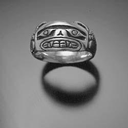 Bear Ring, Sterling Silver Ring, Native American Style Bear Ring. $100.00, via Etsy.