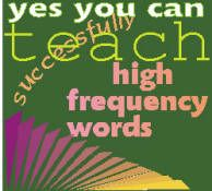 Tips and visuals for teaching sight words to beginners and those with special needs.