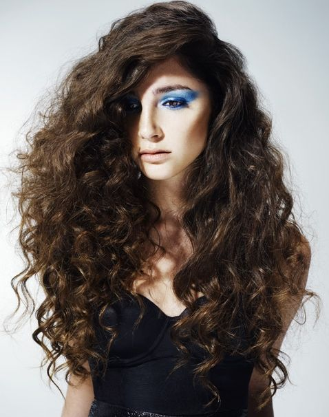 Terrific Curly Hair Long Curly And Long Curly Hair On Pinterest Short Hairstyles Gunalazisus