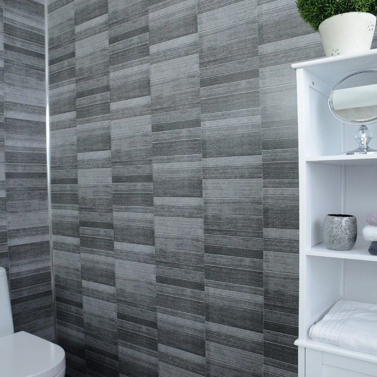 Dark Grey Bathroom Wall Panels Cladding Panels Kitchen Shower Wetrooms 100 Waterproof By Claddtech Bathroom Wall Panels Gray Bathroom Walls Cladding Panels