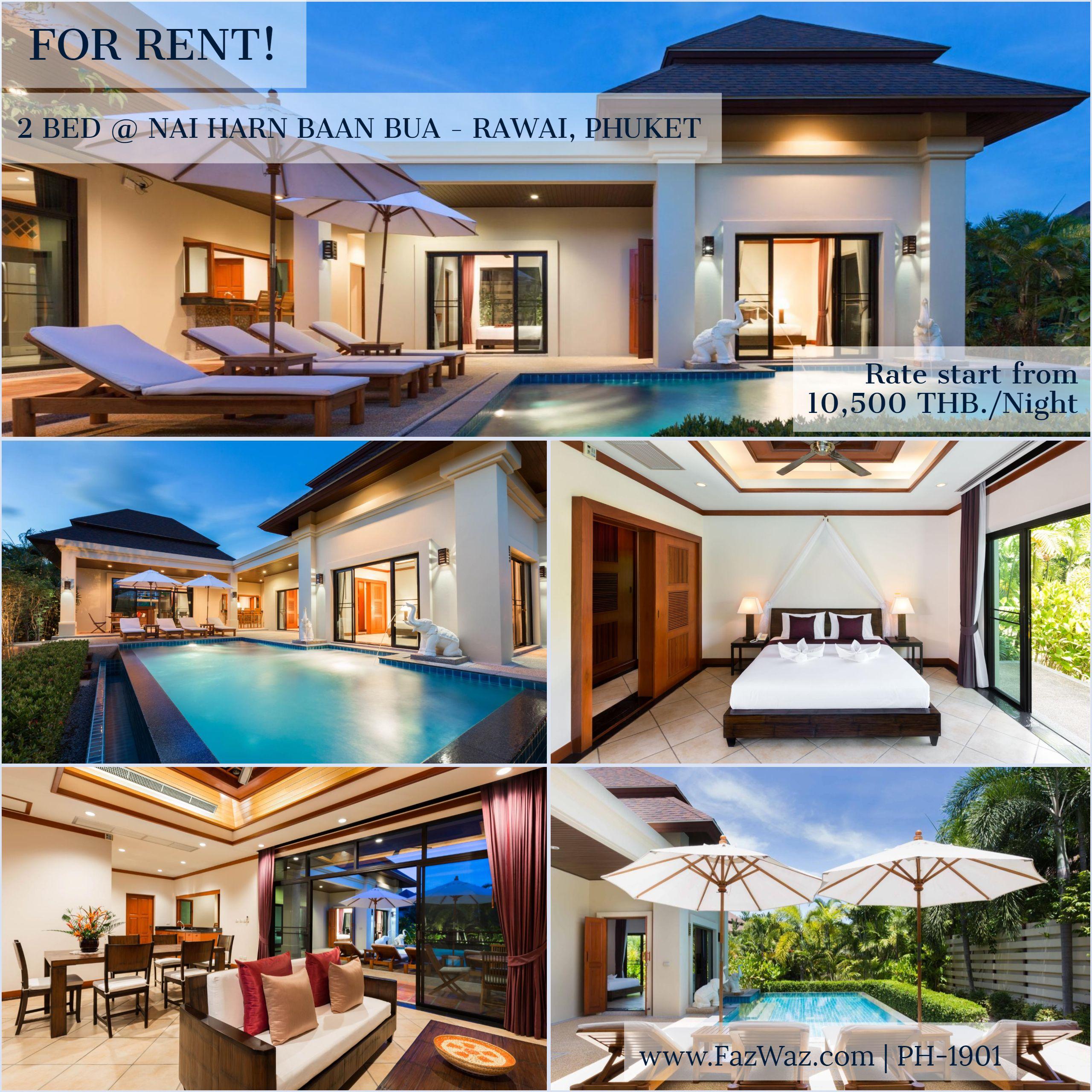 2 Bedroom Private Pool Luxury Villa For Rent In Phuket Villa Phuket Holiday Home Villa
