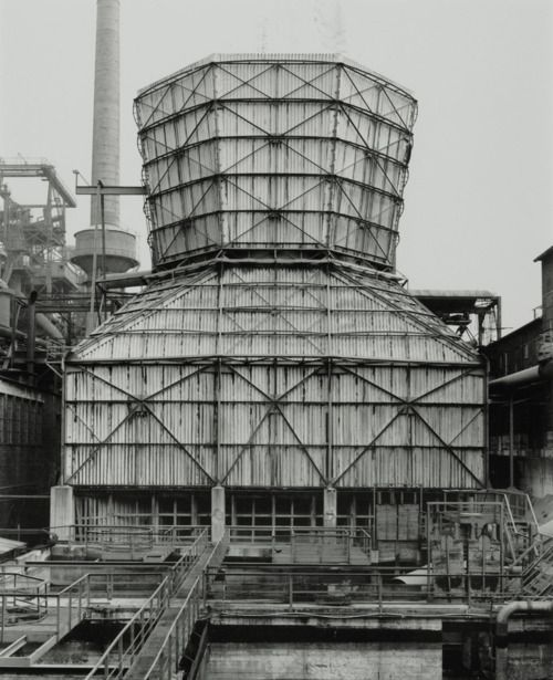 Cooling Tower Hagen Haspe Germany Photo By Bernd Hilla Becher