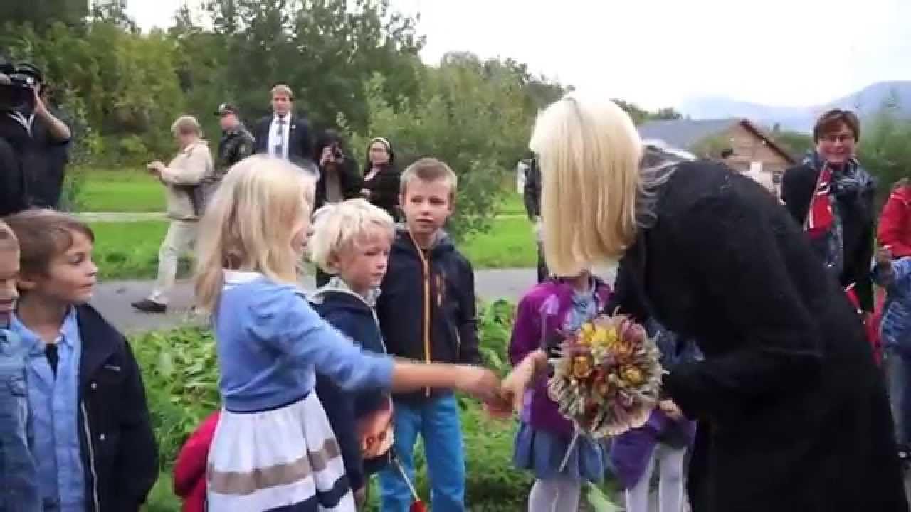 Kronprinsparets fylkestur til Nordland: Steigen