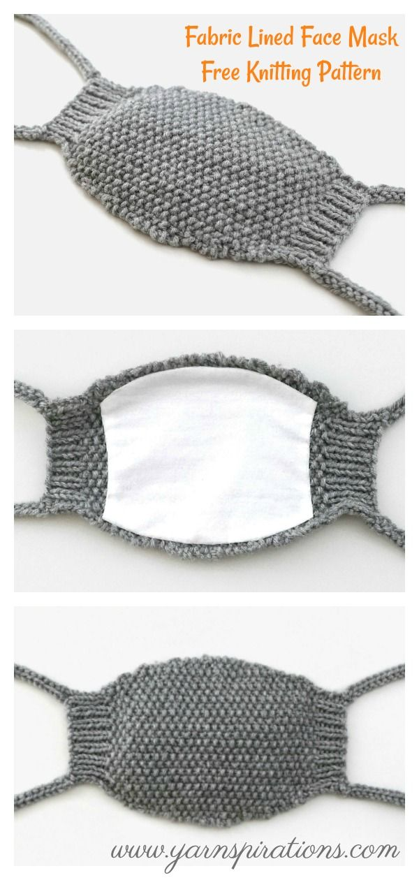 Photo of Face Mask Free Knitting Pattern and Paid