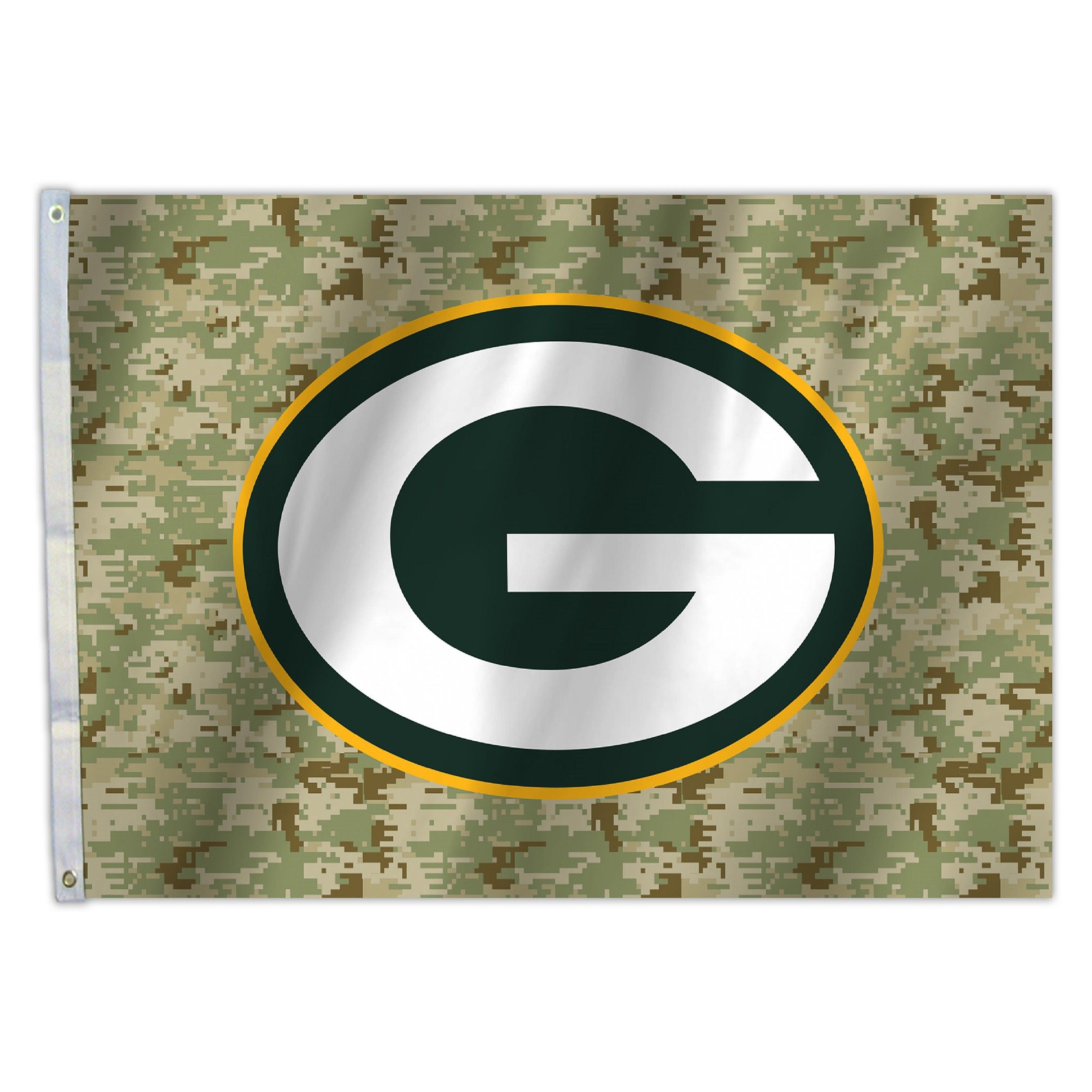 Green Bay Packers Camo 3 X 5 Flag Nfl Green Bay Nfl Camo