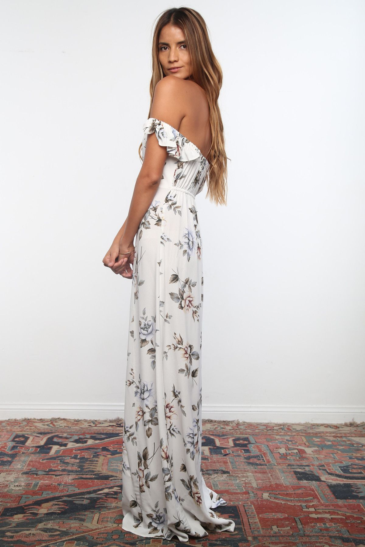 Bardot Maxi Dress | WEAR | Pinterest