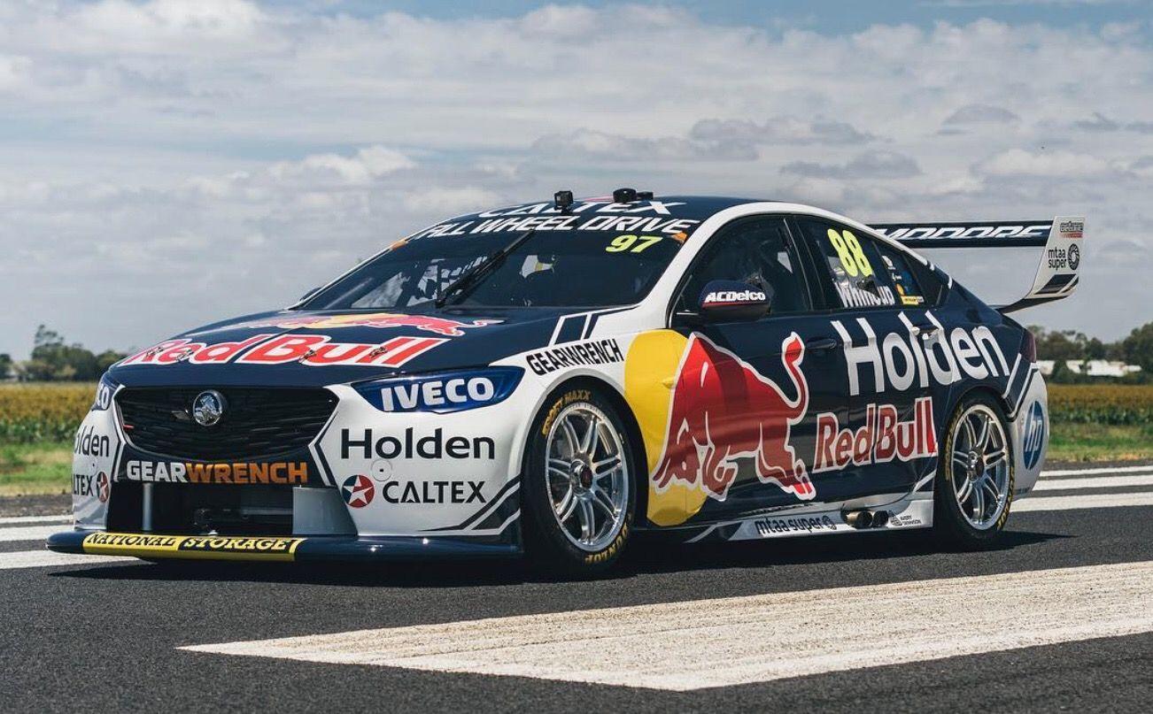 2019 Red Bull Holden Livery Super Cars V8 Supercars Australia Australian V8 Supercars