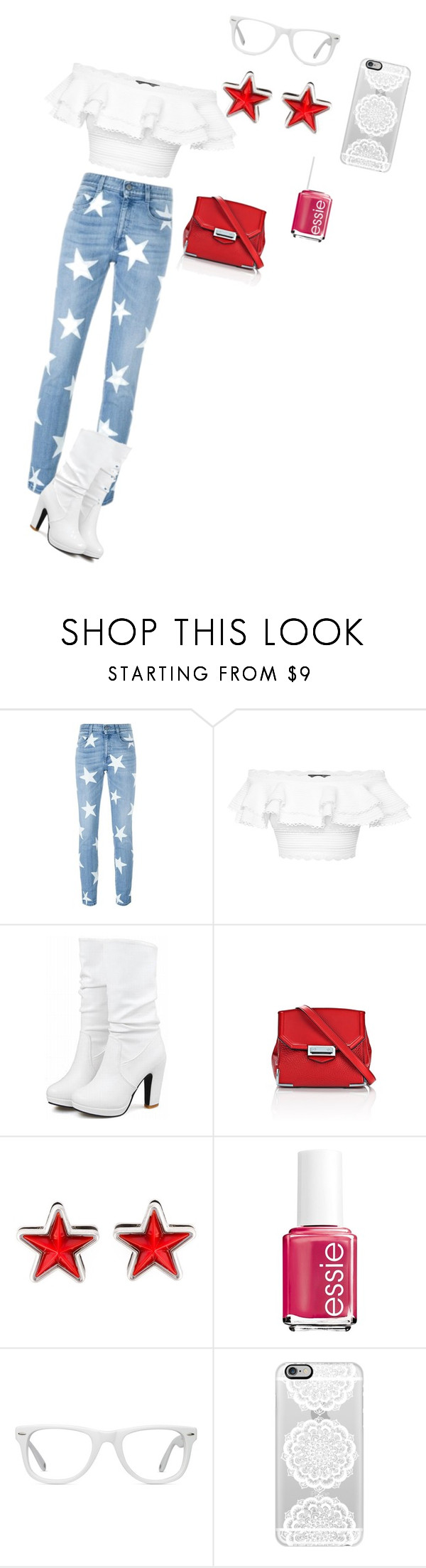 """""""Untitled #1059"""" by sylviabunny ❤ liked on Polyvore featuring STELLA McCARTNEY, Alexander McQueen, Alexander Wang, Givenchy, Essie, Muse, Casetify, women's clothing, women's fashion and women"""
