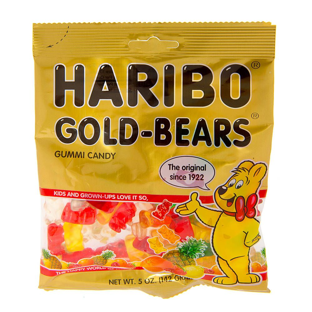 Haribo gummy bears are just one of many products that thomas - Haribo Gummy Bears