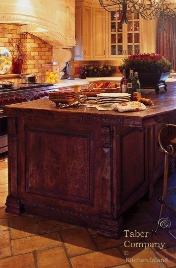 Handcrafted Custom Wood Kitchen Islands