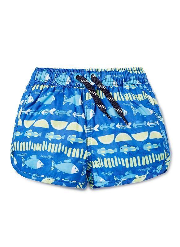64cdcca7f7ba2 Baby Boys Swimwear | Fish & Chip Boardies | Seed Heritage | fishies ...