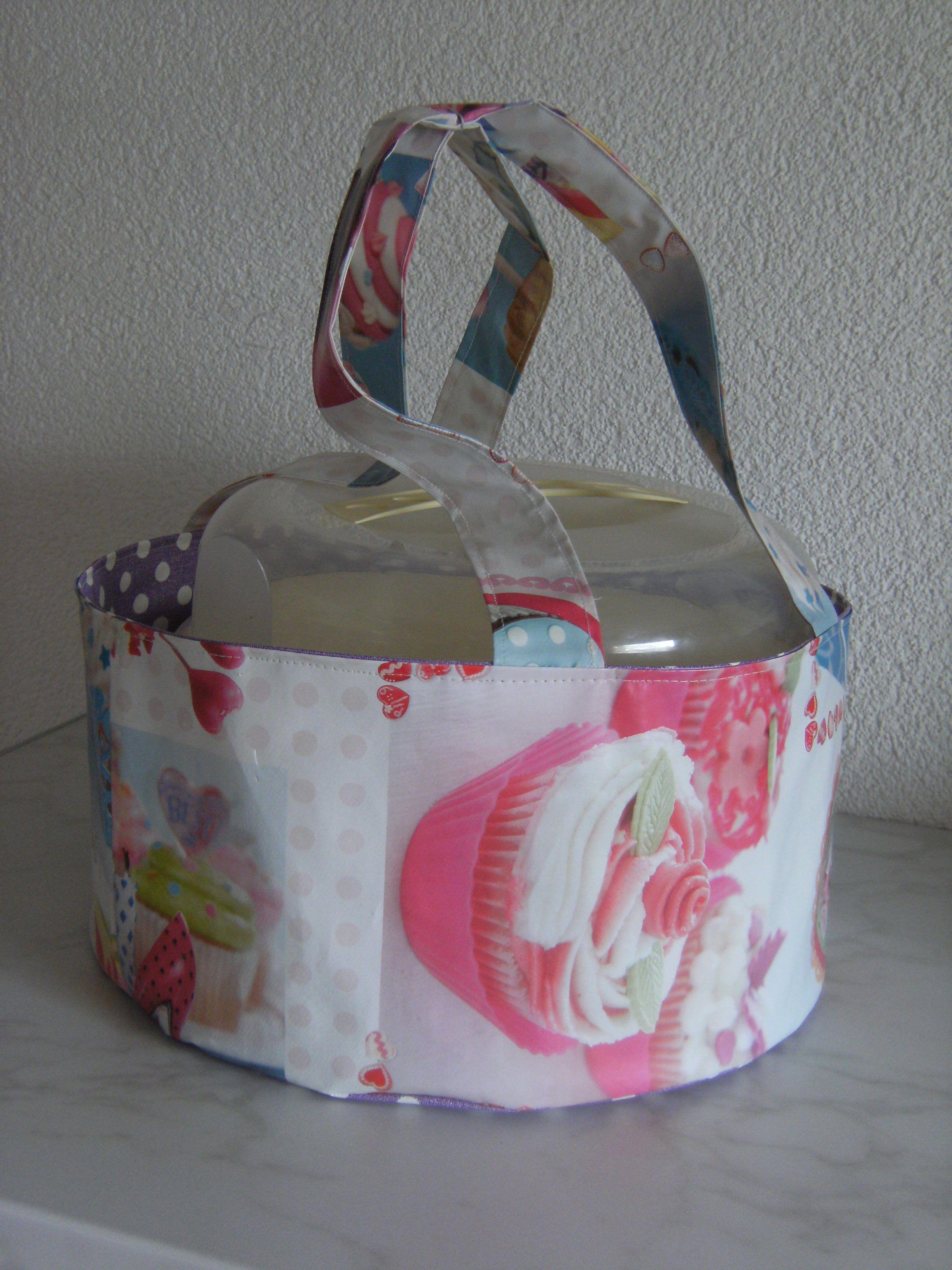 Kuchentasche, Tortentasche, Tortencontainertasche | Sew : Bags ...