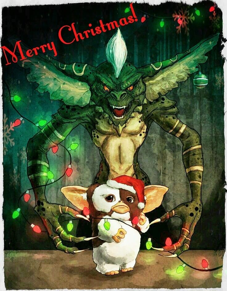Pin by Carmen Villegas on Merry Christmas Gremlins art