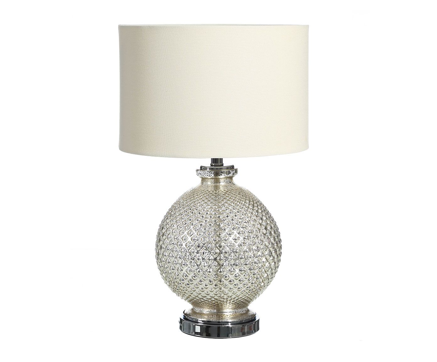 Lámpara de sobremesa Julieta, plateado - altura 26 cm | Westwing Home & Living