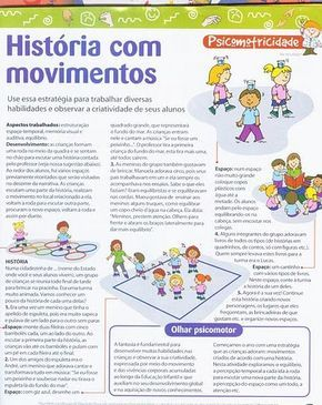 Jogos Psicomotores Psicomotricidade Na Educacao Infantil