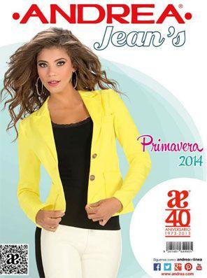 Catalogo Ropa Andrea Jeans Primavera Verano 2014 Catalogos Online Catalogos De Ropa Catalogos Andrea Ropa