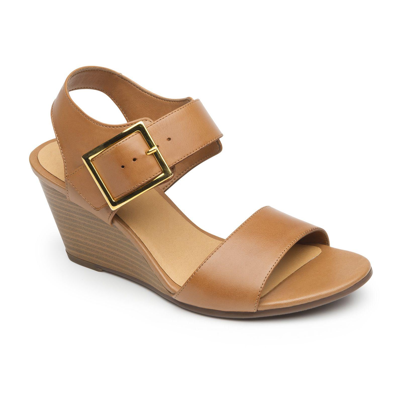 Nueva línea de sandalia de semi-vestir de cuña diseñada en dos estilos   sandalia e519449f9b2e