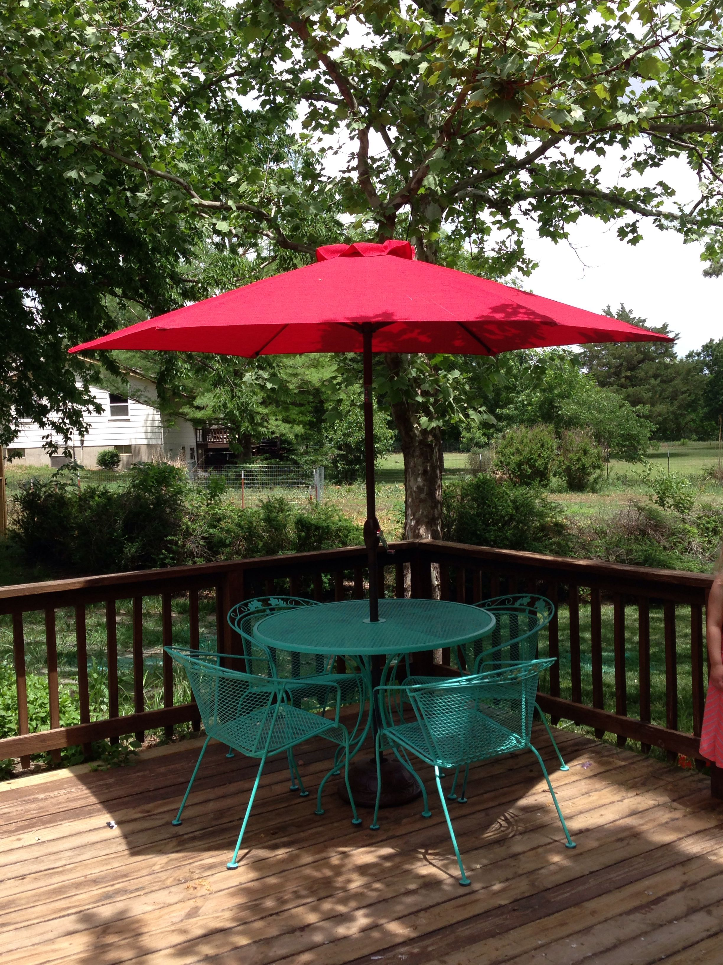 Spray Painted Wrought Iron Patio Furniture Add A Fun
