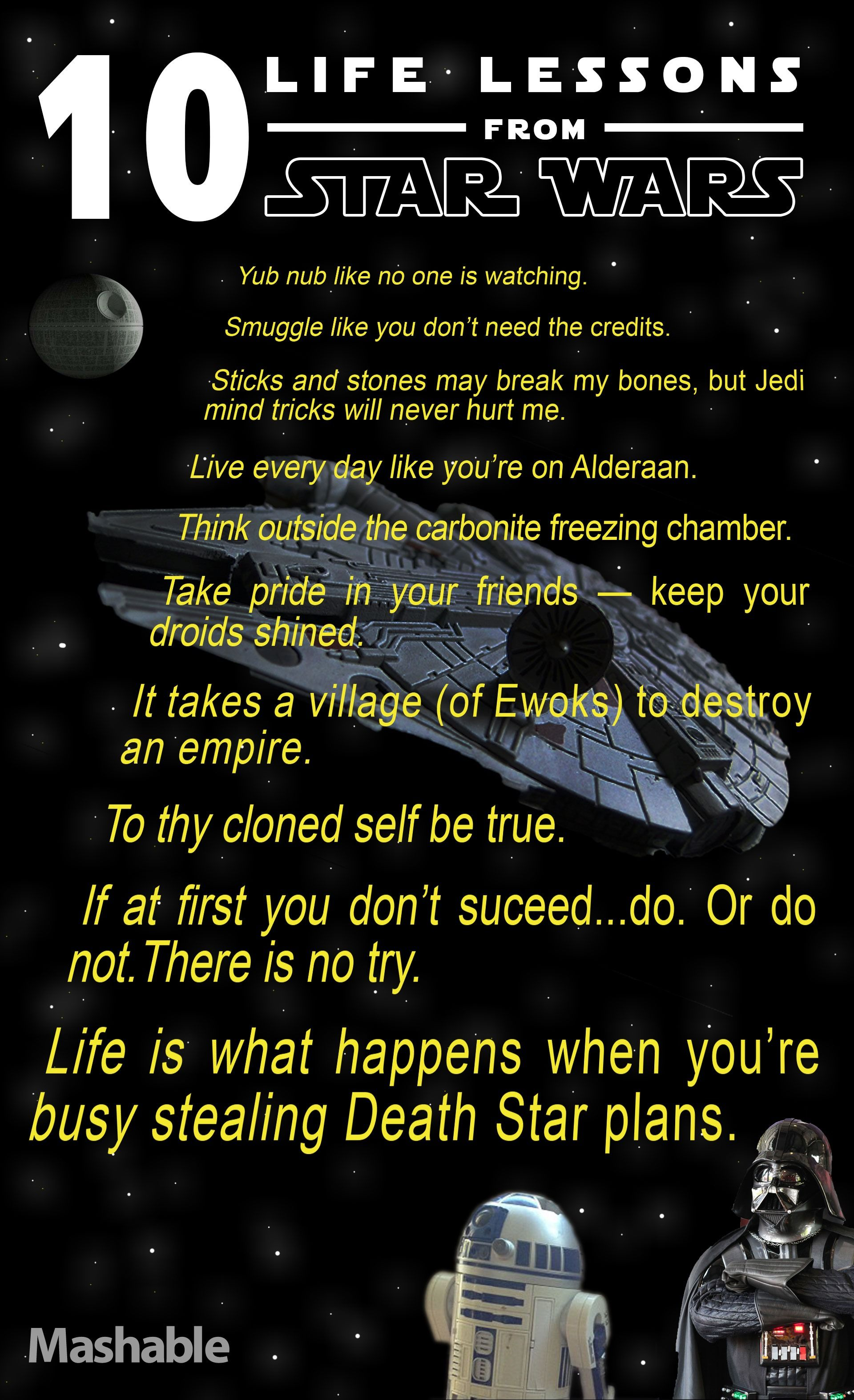 Funny Quotes About Life Lessons 10 Life Lessons From Star Wars  Life Lessons Learned Life