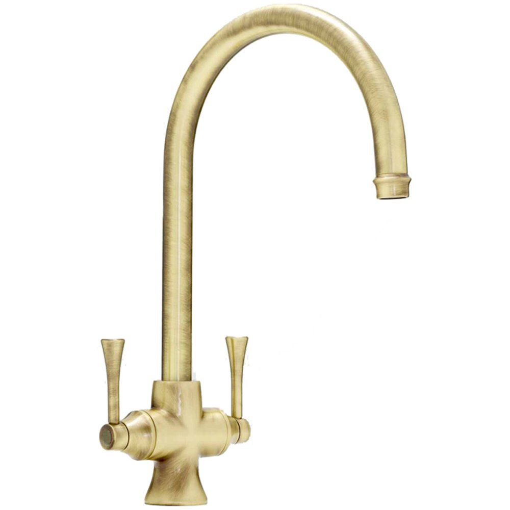 abode gosford antique bronze monobloc kitchen sink mixer tap at1022