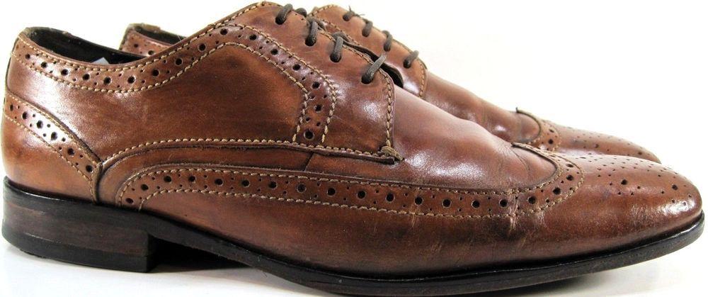 Bostonian Men Wingtip Oxford Shoes Size