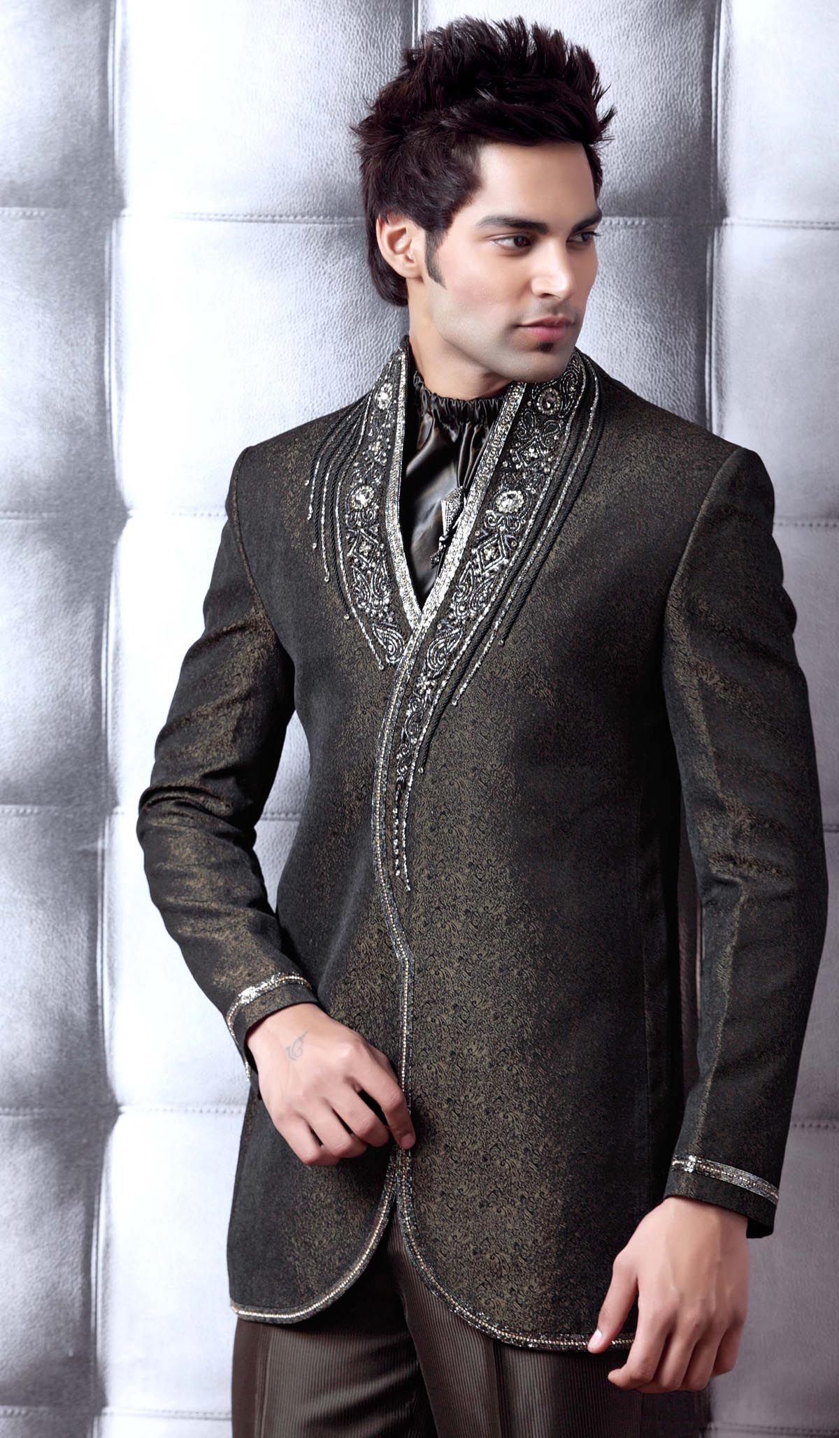 Designer Suits For Men Jodhpuri Partywear Mens Tuxedos Wedding Reception Pic