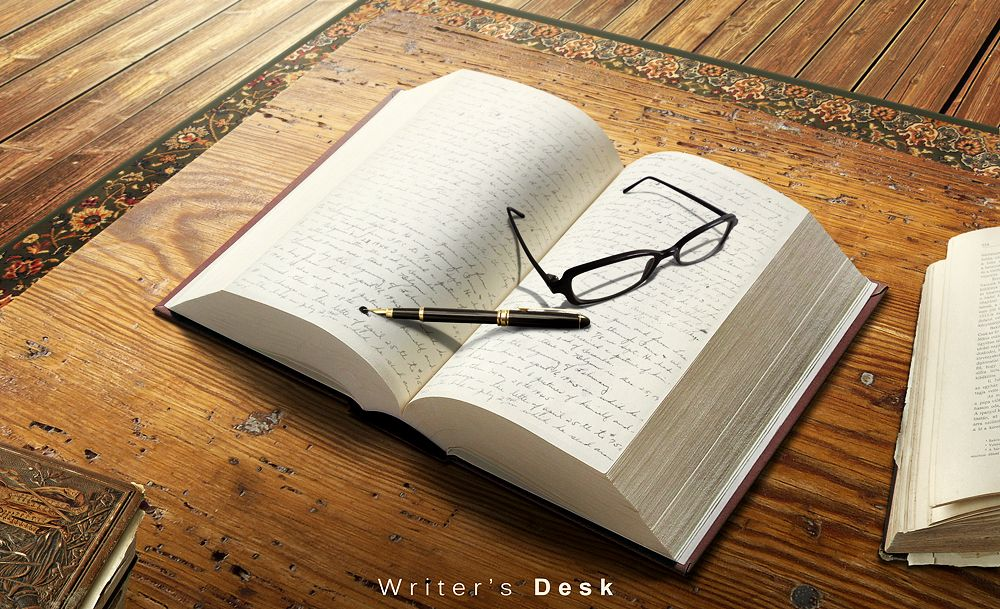 Writeru0027s Desk by ~hussain1 Writing \ Reading Pinterest Desks - book writing