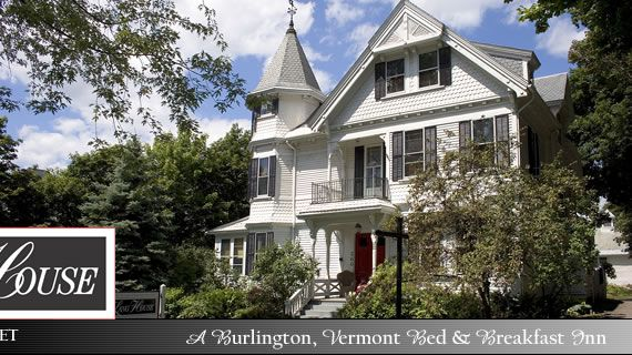 Outside view of a Burlington, Vermont Bed and Breakfast ...