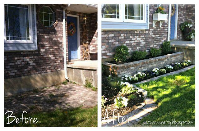 Just Wanna Party: Yard Renovation   Front yard, Outdoor ... on Front Yard Renovation Ideas id=43985