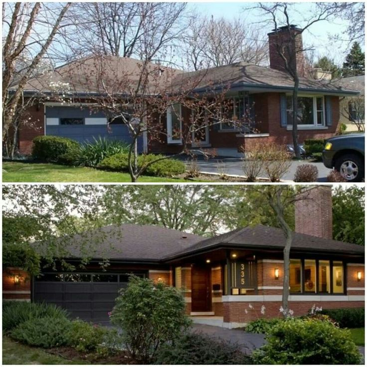 Exterior Home Makeovers: 1980 Ranch House Remodel In 2019