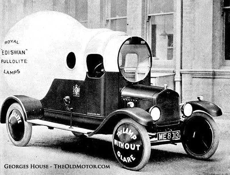 A Few Automotive Oddities to Ponder: Thanks to all our friends and readers from all over the world, today on The Old Motor we present you with three oddballs: A neat product mobile, a French Helica, and a Mercedes with unusual applied paintwork. See them all and learn more at: http://theoldmotor.com/?p=126441