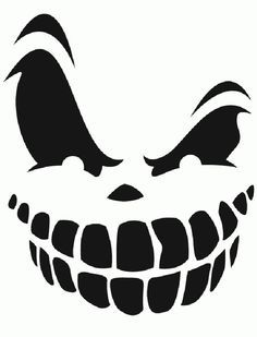 A4//A5//A6 Haunted Halloween Stencil
