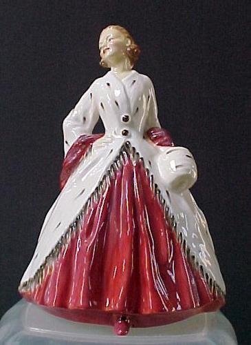 "Royal Doulton Figurine The Ermine Coat HN1981 6-3/4"" (Mint Condition)"