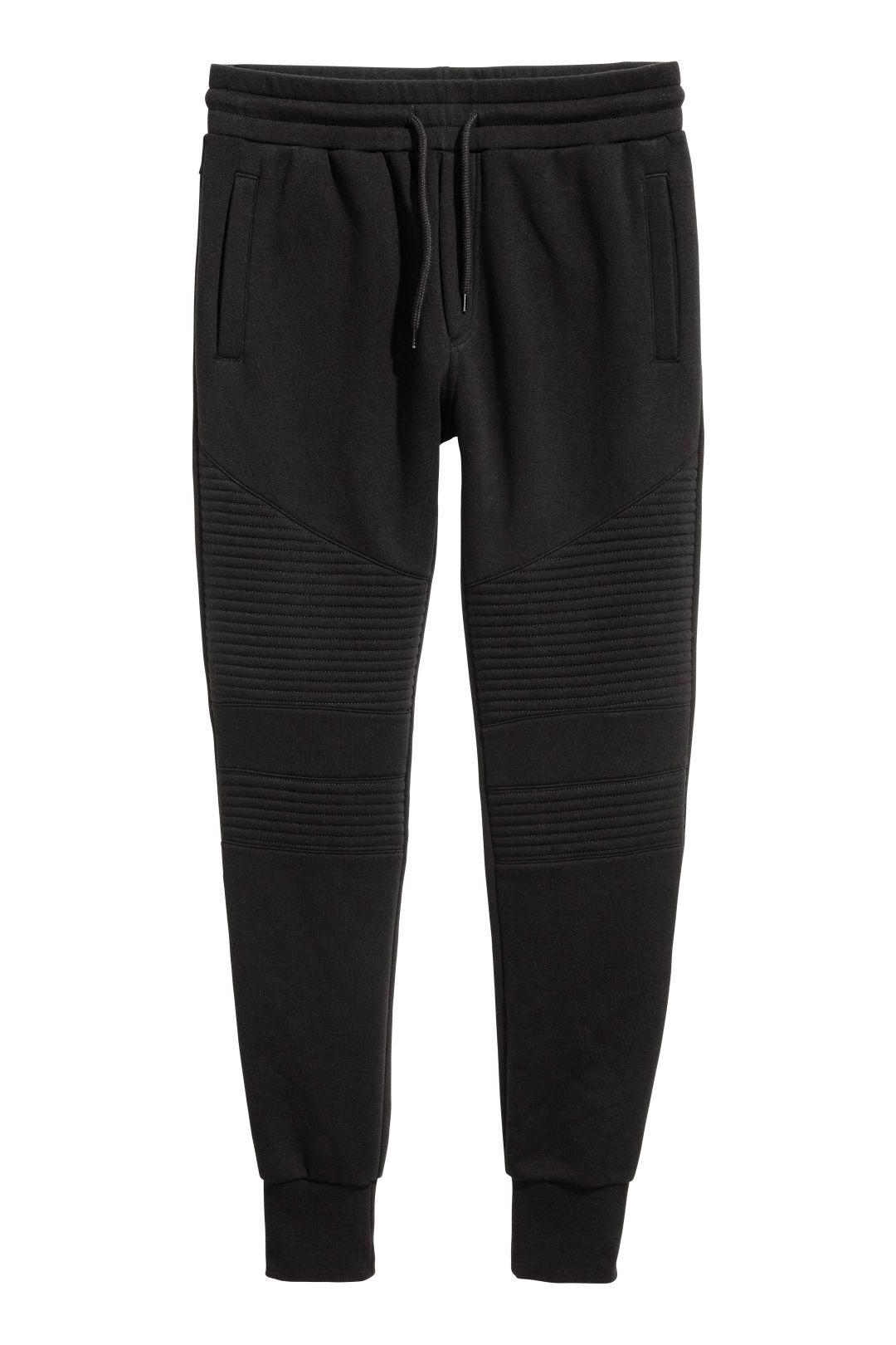 31981d400b9bc H&M Biker Joggers - Black | style | Pants, Mens joggers, Trousers