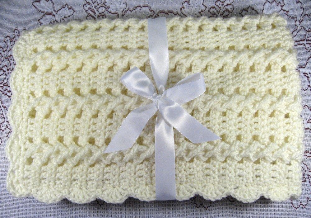 PDF Pattern Crocheted Baby Afghan CAR SEAT Size and Newborn | bebes ...