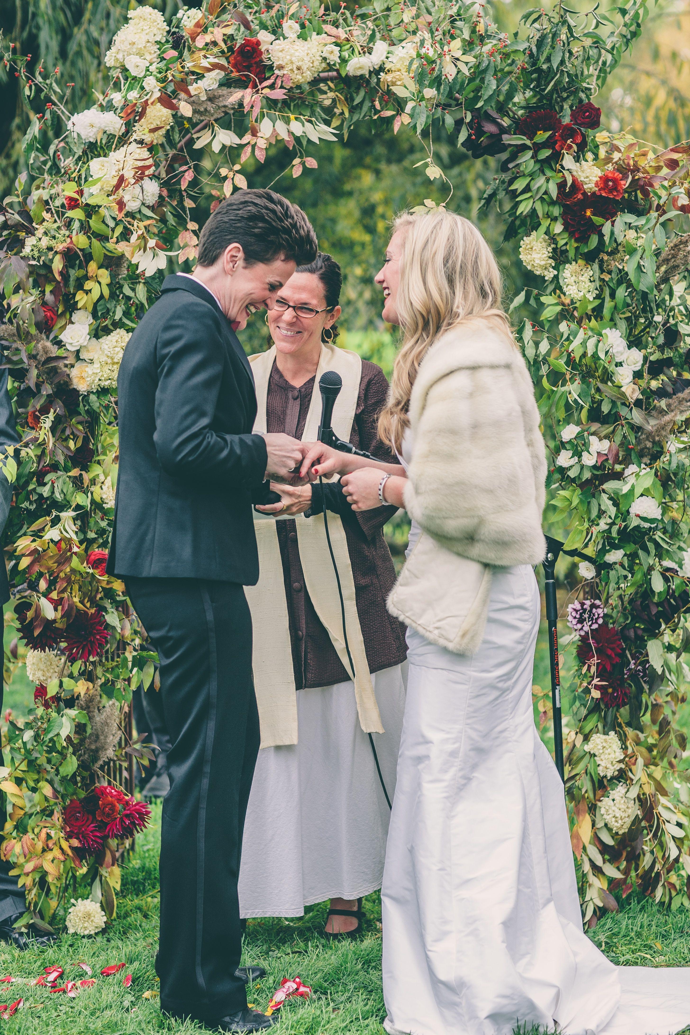 Anja and Kellye's Wedding at Brooklyn Botanical Garden