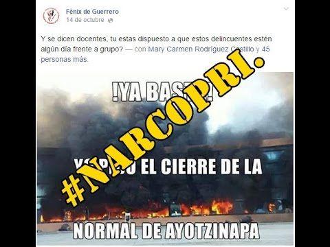 Reacción de los esbirros del #NarcoPRI ante los hechos en #Ayotzinapa.